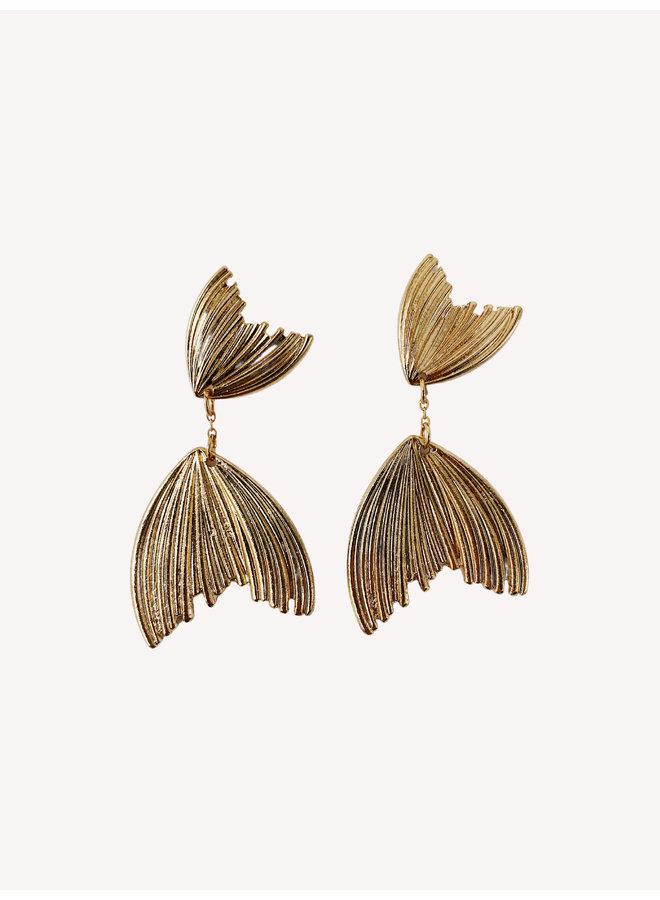 Mermaid Earring - Gold #8
