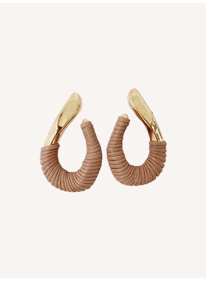 Adore Earring - Gold/Pink #12