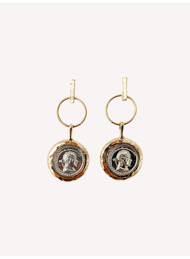 Tails Earring - Gold/Silver #17