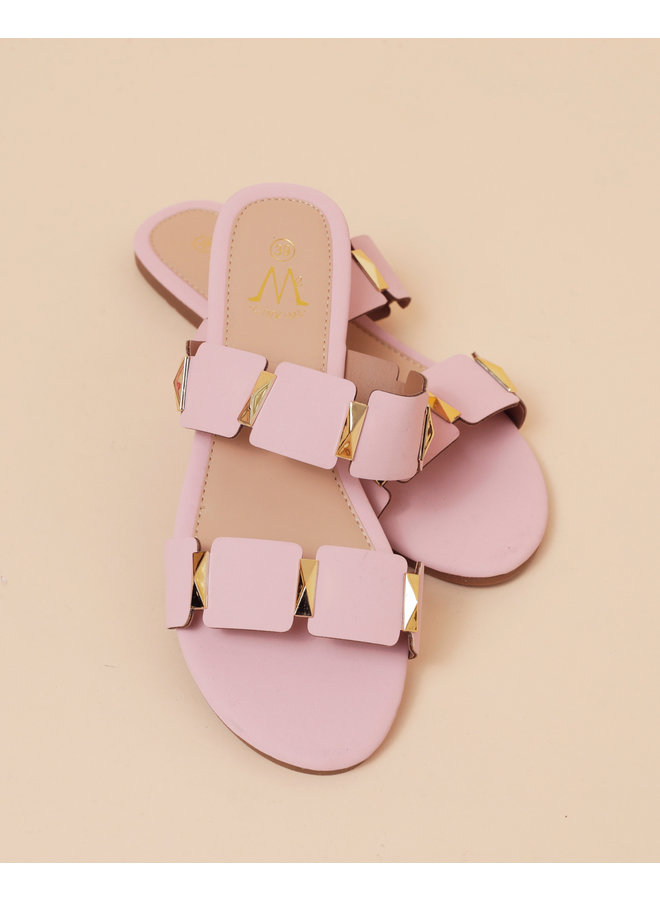 Good love slippers - pink #HS8-10