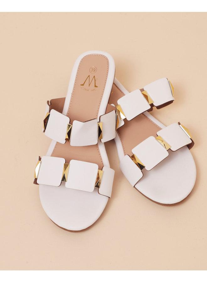 Good love slippers - white #HS8-10