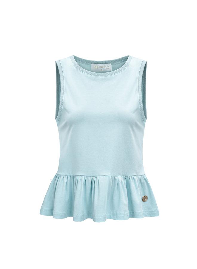 Top Zara Light Blue