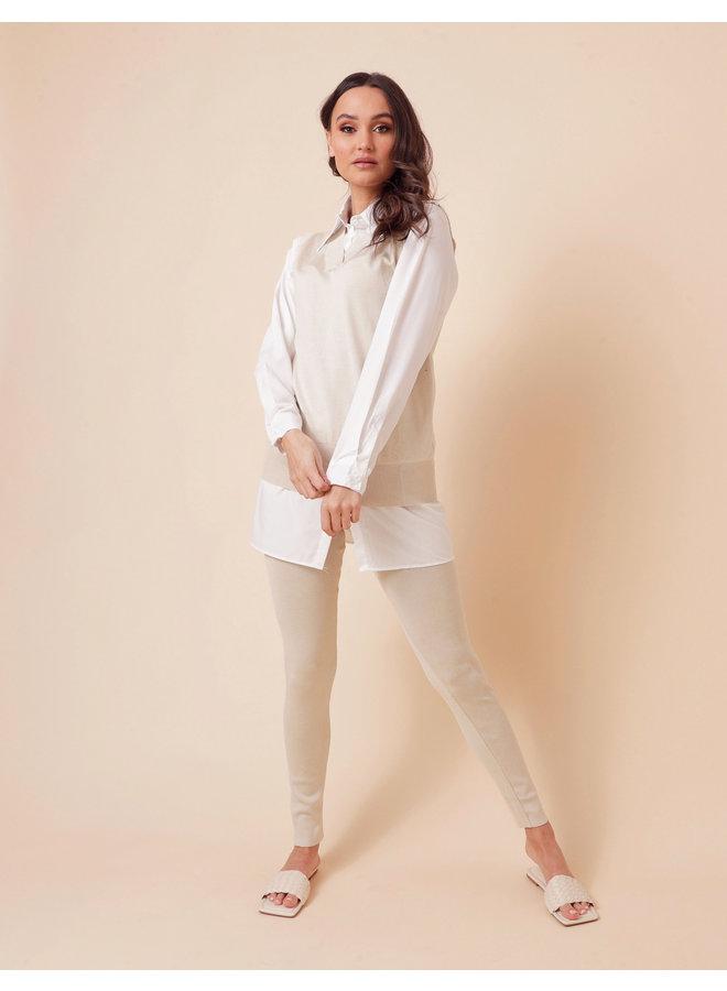 Icon babe spencer blouse set  - camel #1546