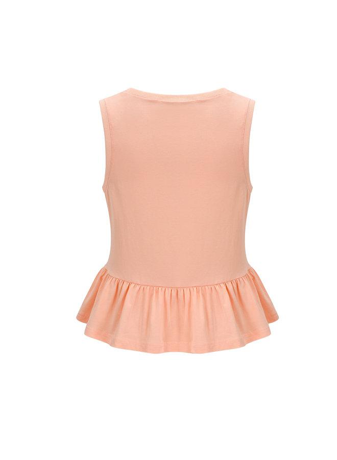 Top Zara Peach