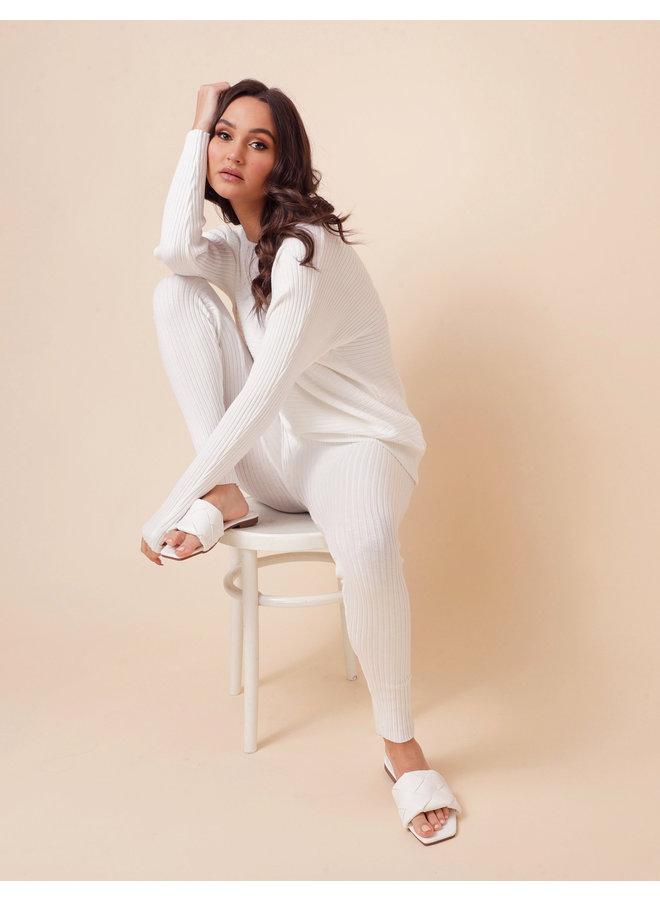Still in love loungeset - white #1557