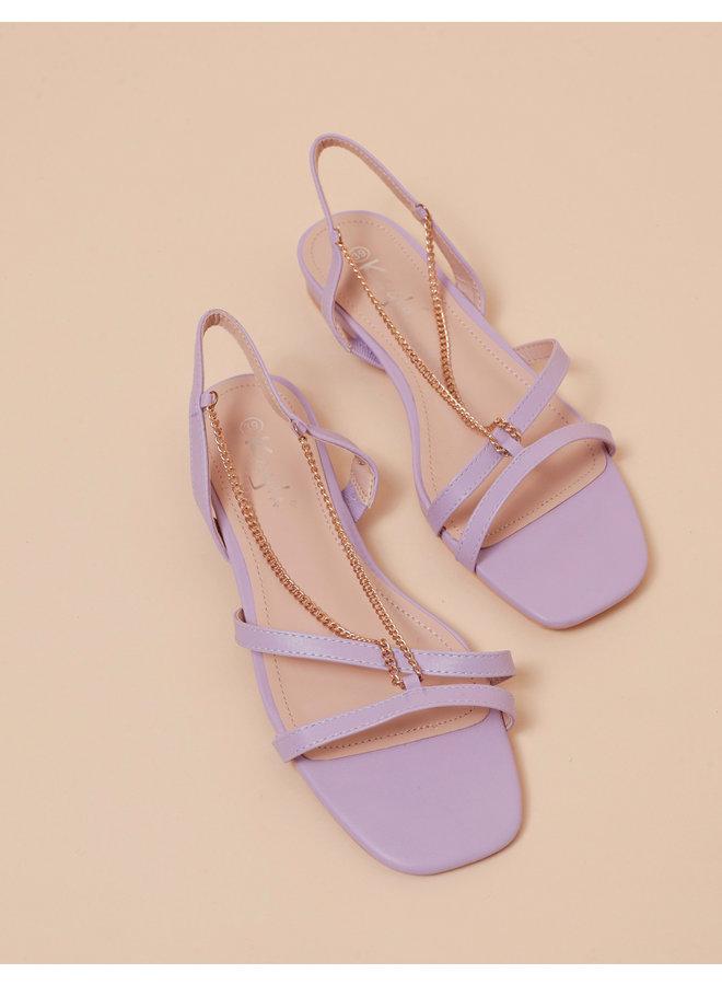 Vacay baby sandals - lila #LL6560