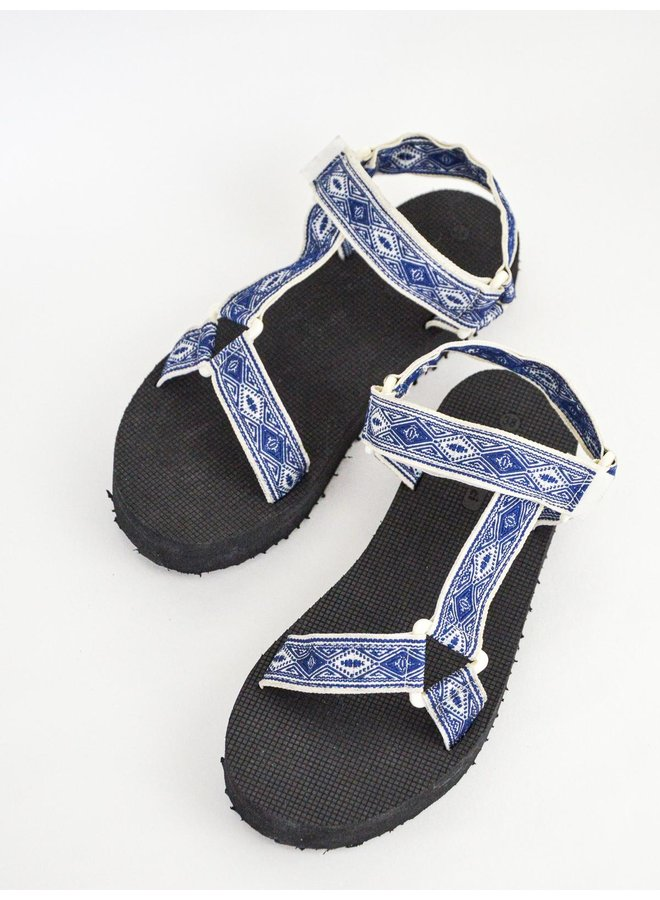 Paige slippers - blue #B-634