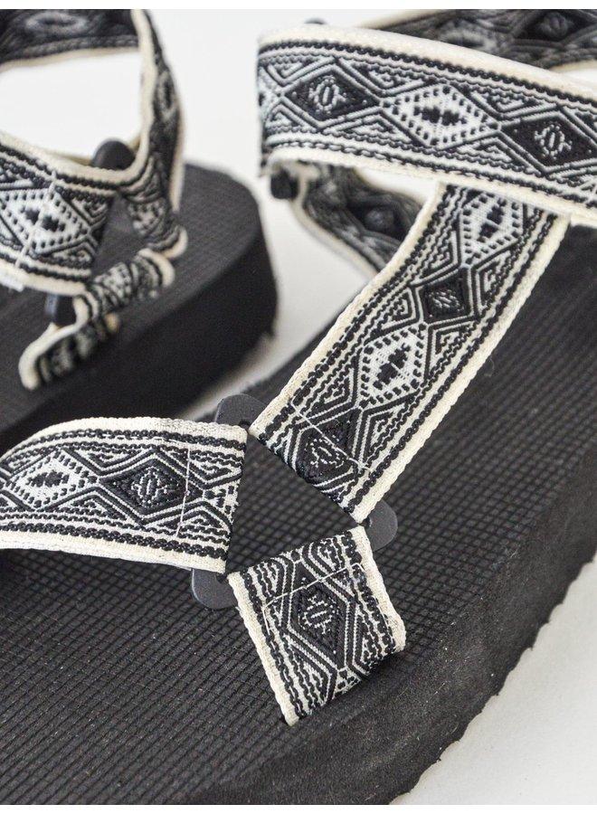 Paige slippers - black #B-634
