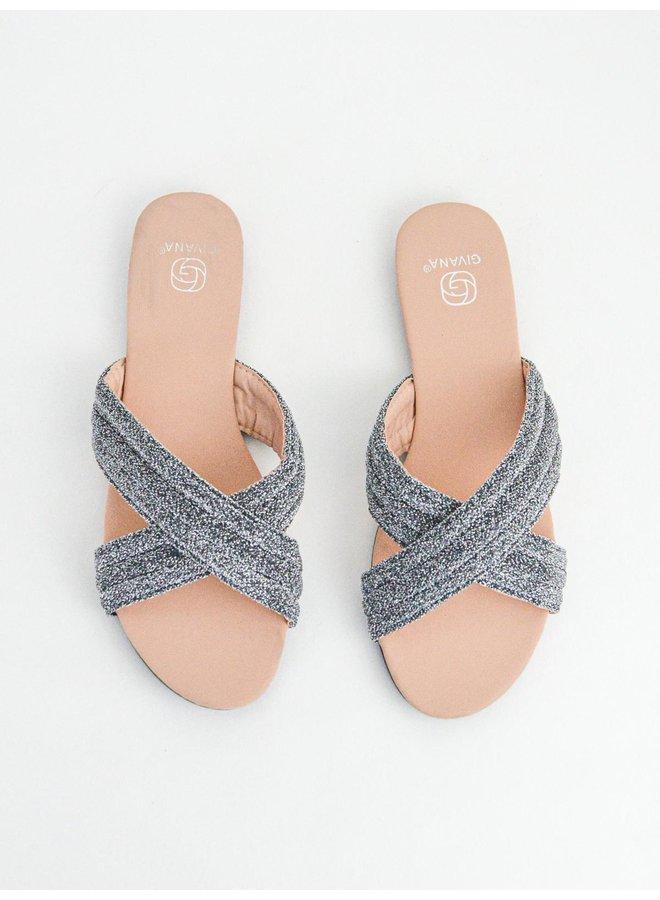 Eva slippers - glitter #KELLY-15