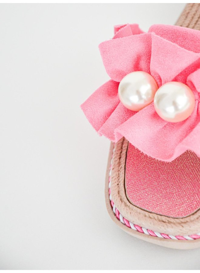 Kiki slippers - fuchsia #BJ557