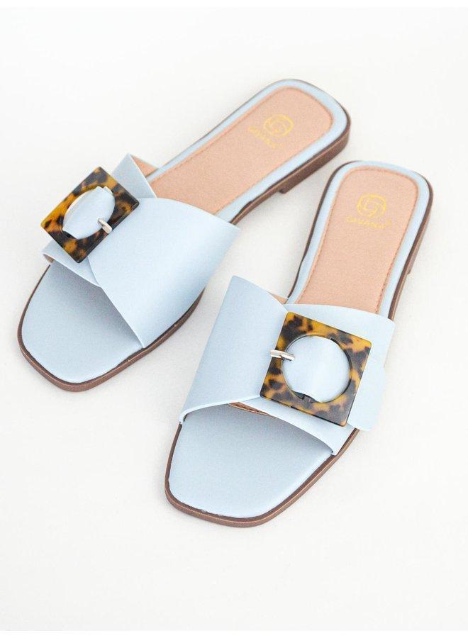 Coco slippers - light blue #B1639-29