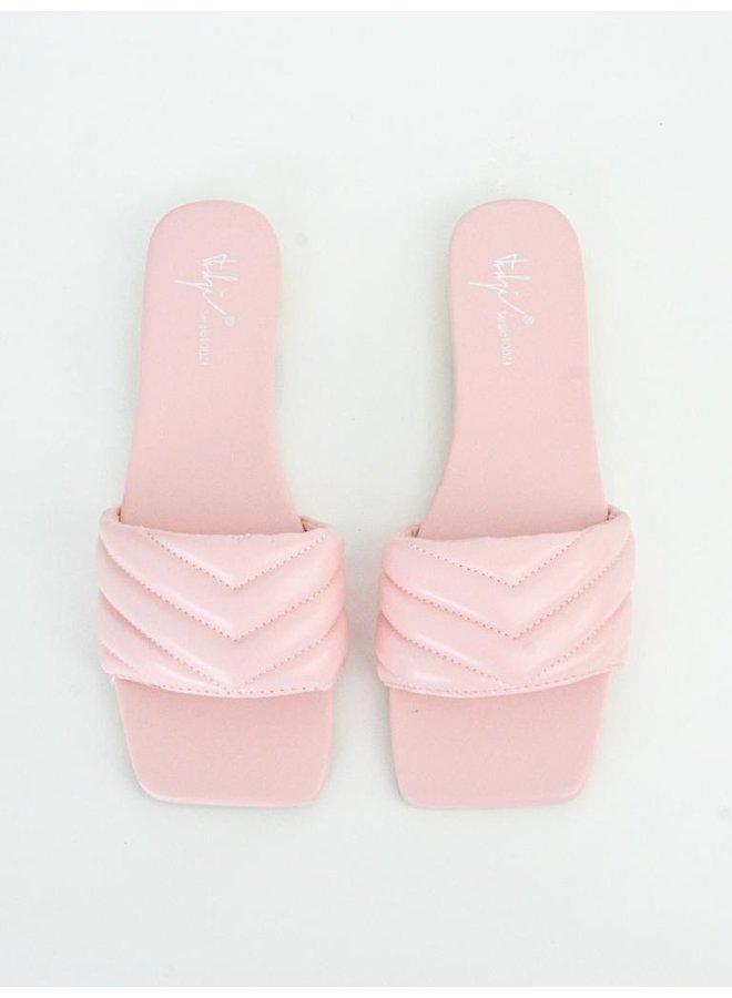 Carli slippers - pink #GF194