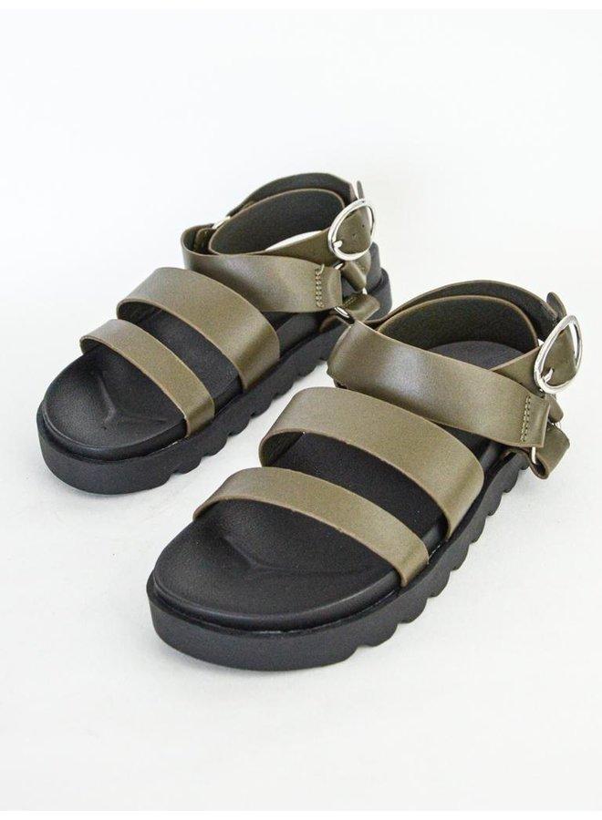 Dianna sandals - green #016