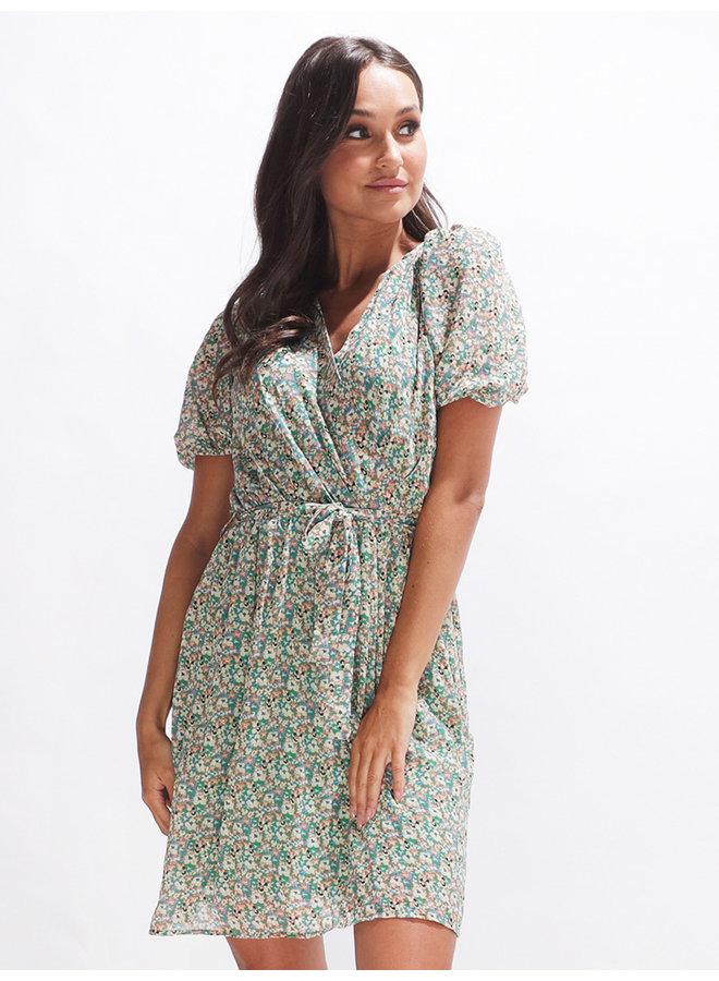 Maria dress - green #2088