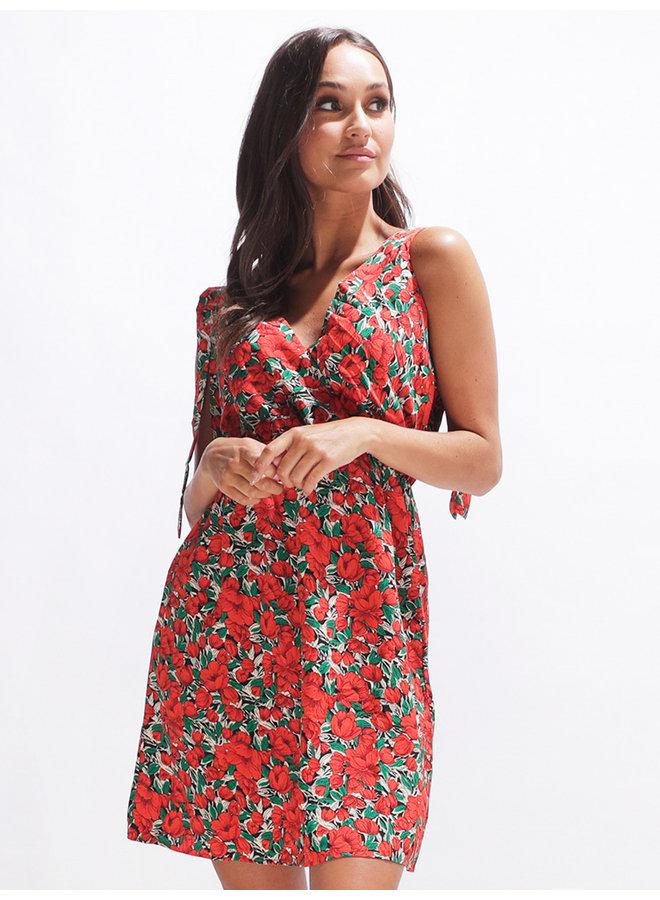 Cutie dress - red  #2052