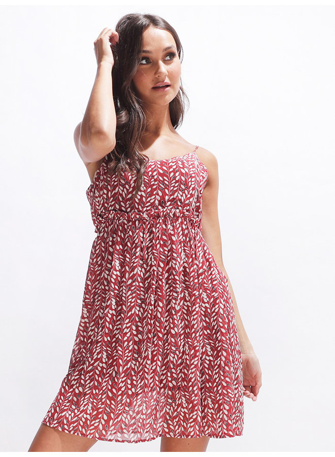 Cathy dress - red #2059