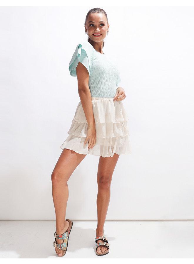 Tempira skirt - creme #2066
