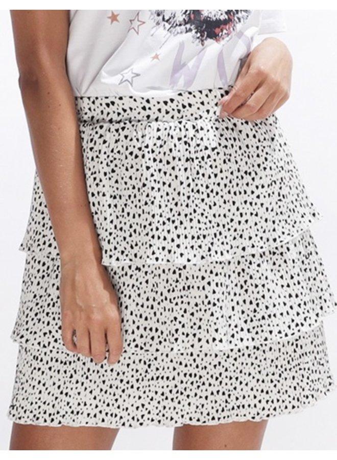 i heart you skirt - offwhite #2081