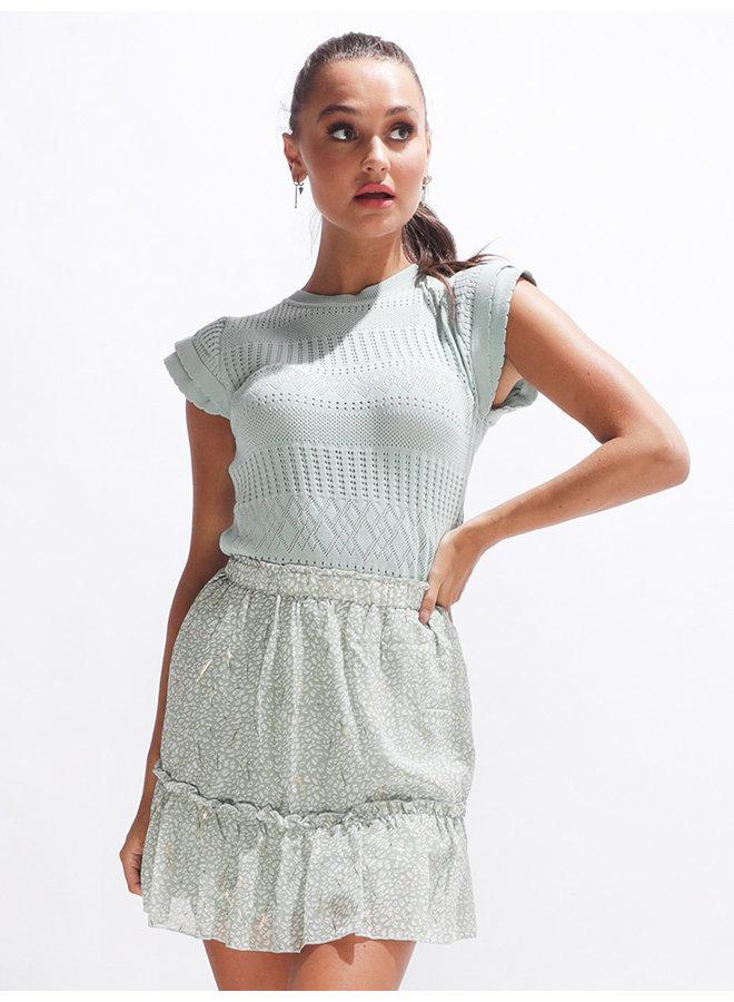 Britney skirt - green #2115