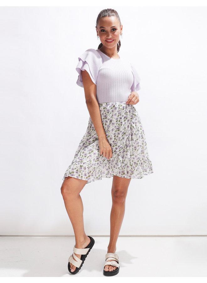 Perfect flower skirt - offwhite #2054