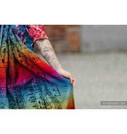 LennyLamb LennyLamb ringsling Symphony Rainbow Dark - lang (2,1m)
