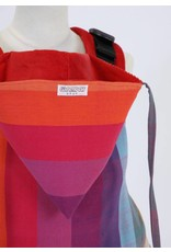 Wompat Peuter/kleuter draagzak Wompat Preschool Earthy Rainbow Red
