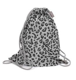 Fidella Fidella rugzak Leopard silver
