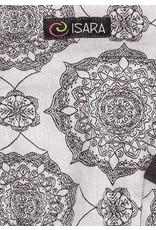 Isara Draagzak Isara the One Kaleidoscopix Silver Gray