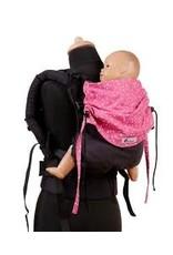 Draagzak Huckepack Medium antraciet roze