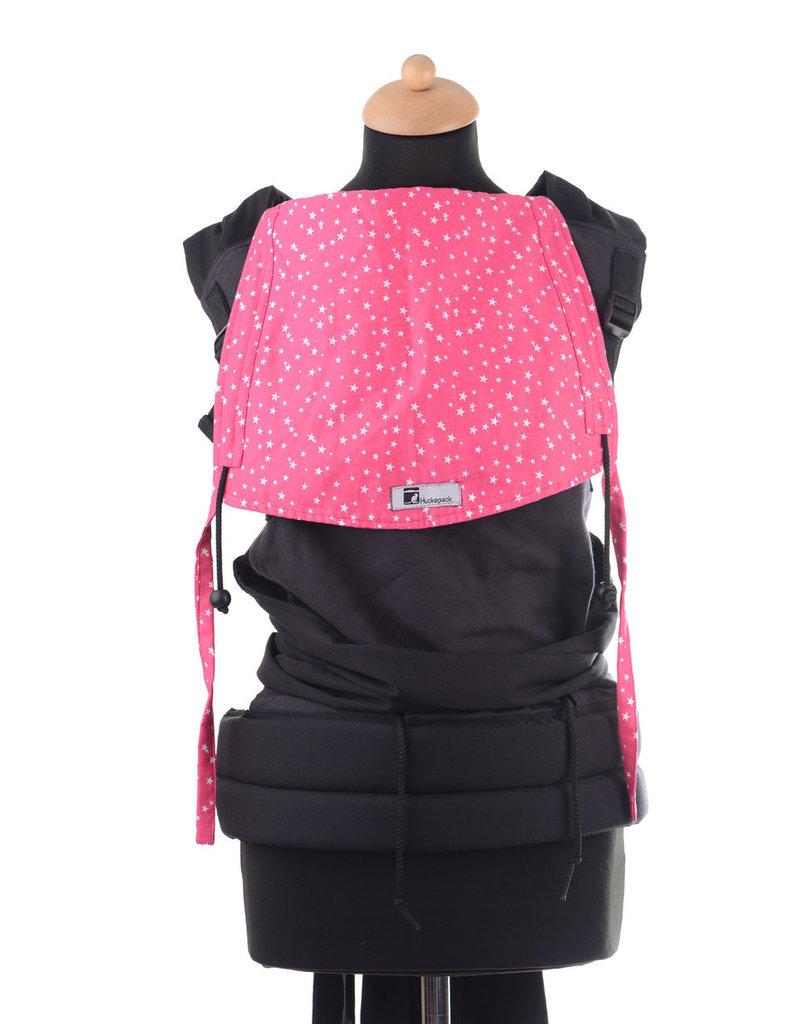 Baby-Roo - Huckepack Draagzak Huckepack Medium antraciet roze