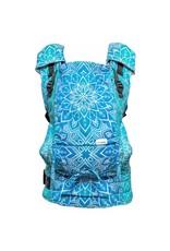 Be Lenka Draagzak Lenka4Ever Mandala Blue 'Wide Straps' - met te kruisen schouderbanden