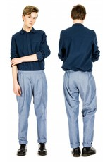 format COSY II pants, light denim