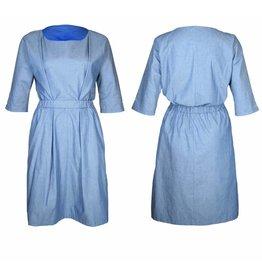format NEAT dress, light denim