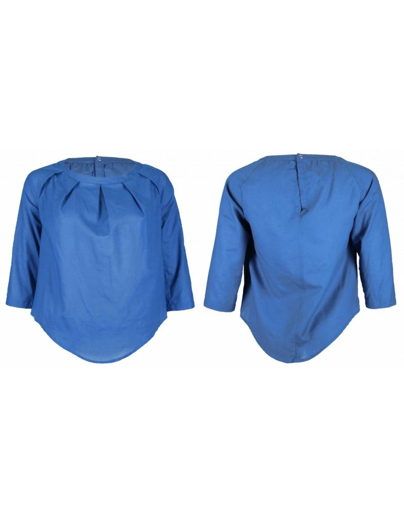 format TARA blouse, plain