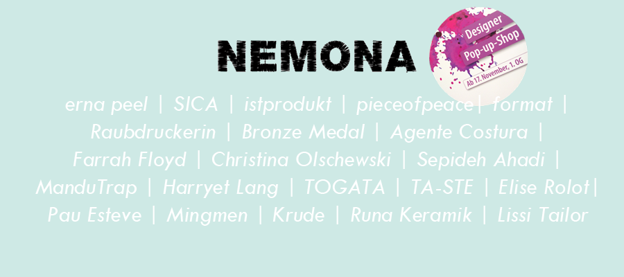 NEMONA POP UP 11-12 2016