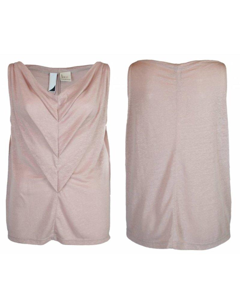 format TRIA top, linen