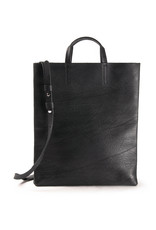 Harold's Leather paper bag with shoulder strap