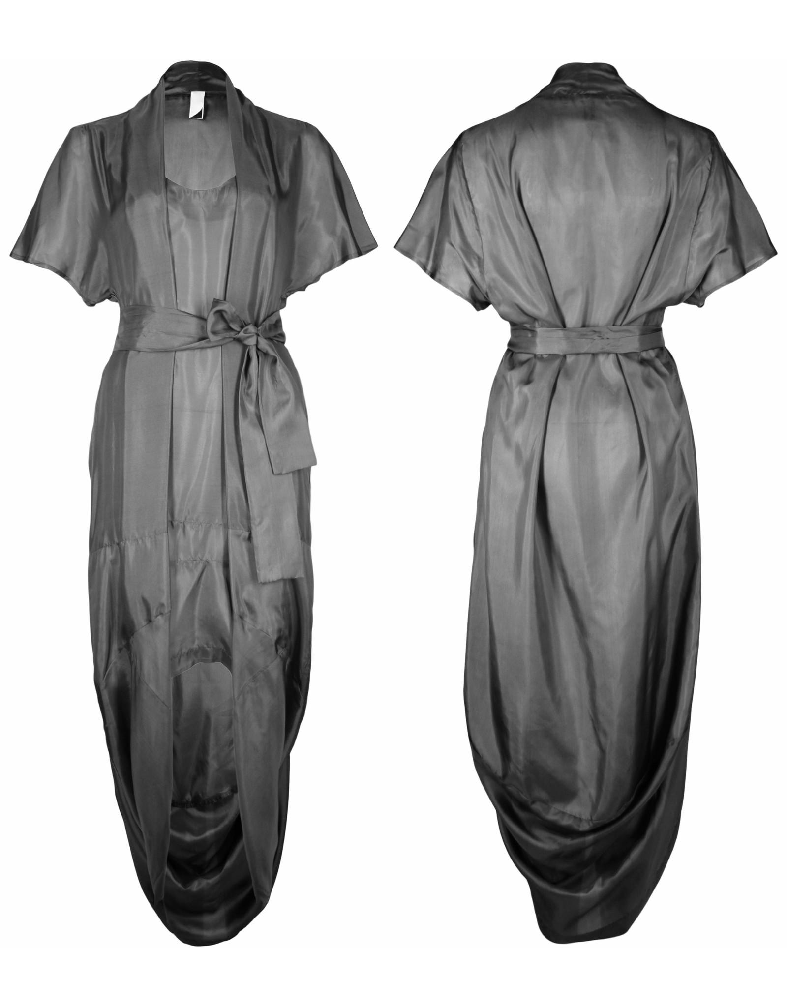 format SAGE dress, pure silk