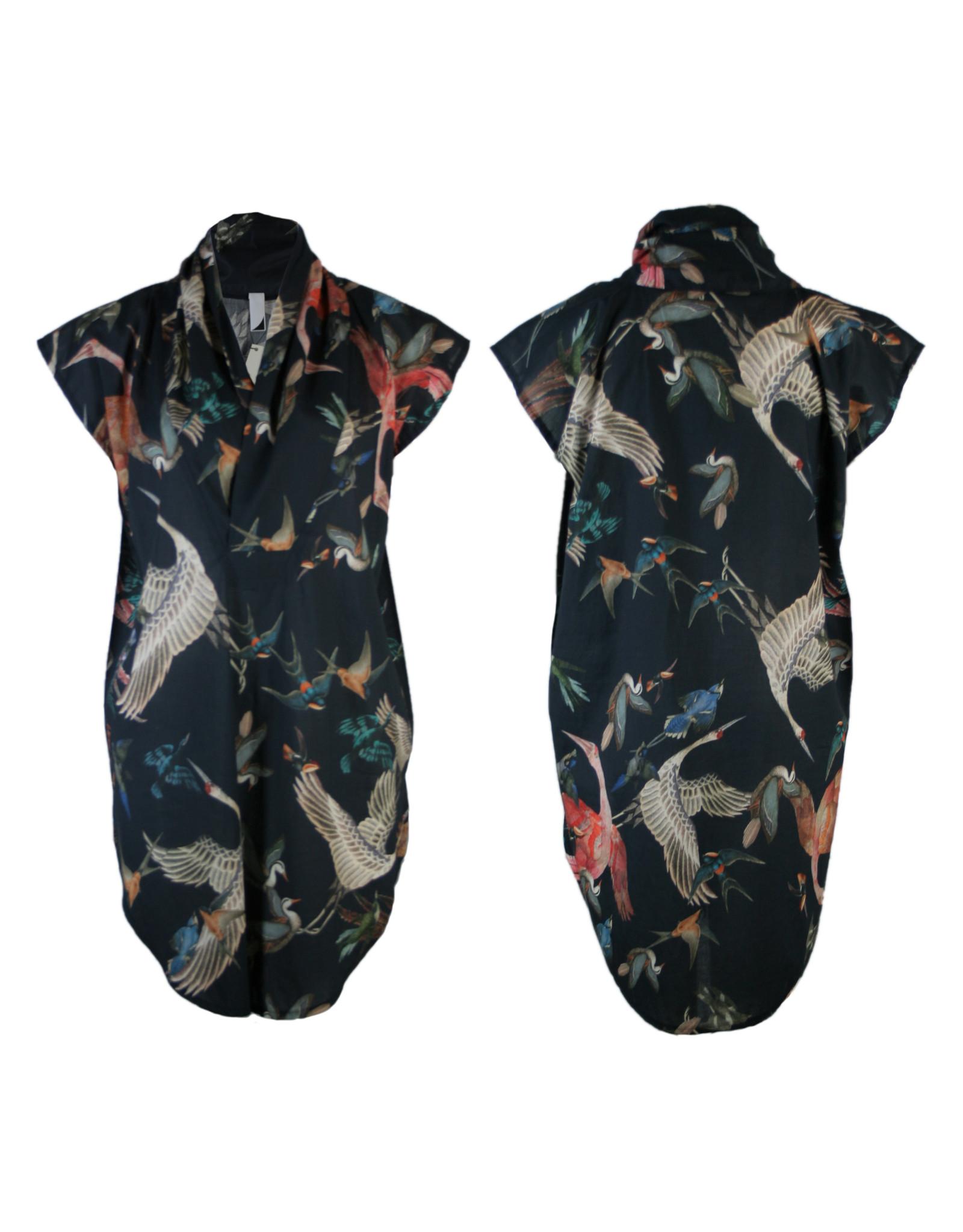 format TOAT dressblouse, plain