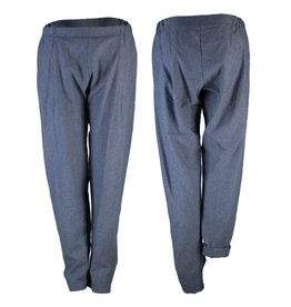 format COSY II pants, Cotton-Hemp Denim