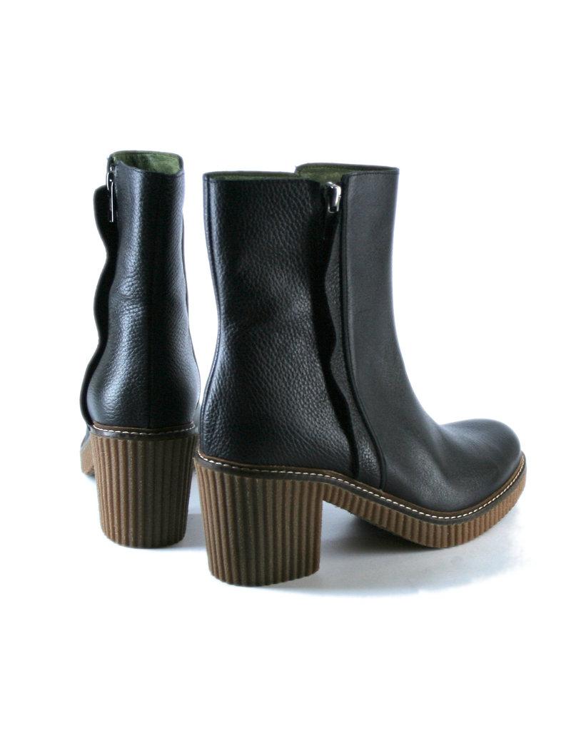 Jonny's  Absatz-Boots, schwarz