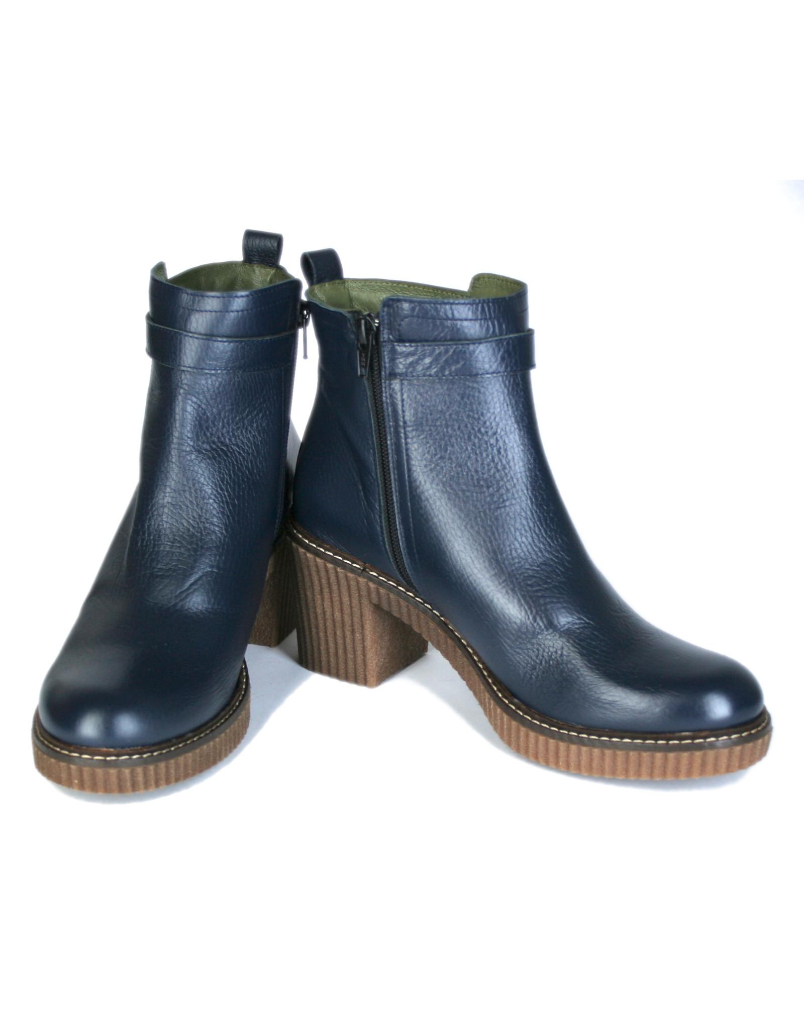 Jonny's Boots with heels, blue