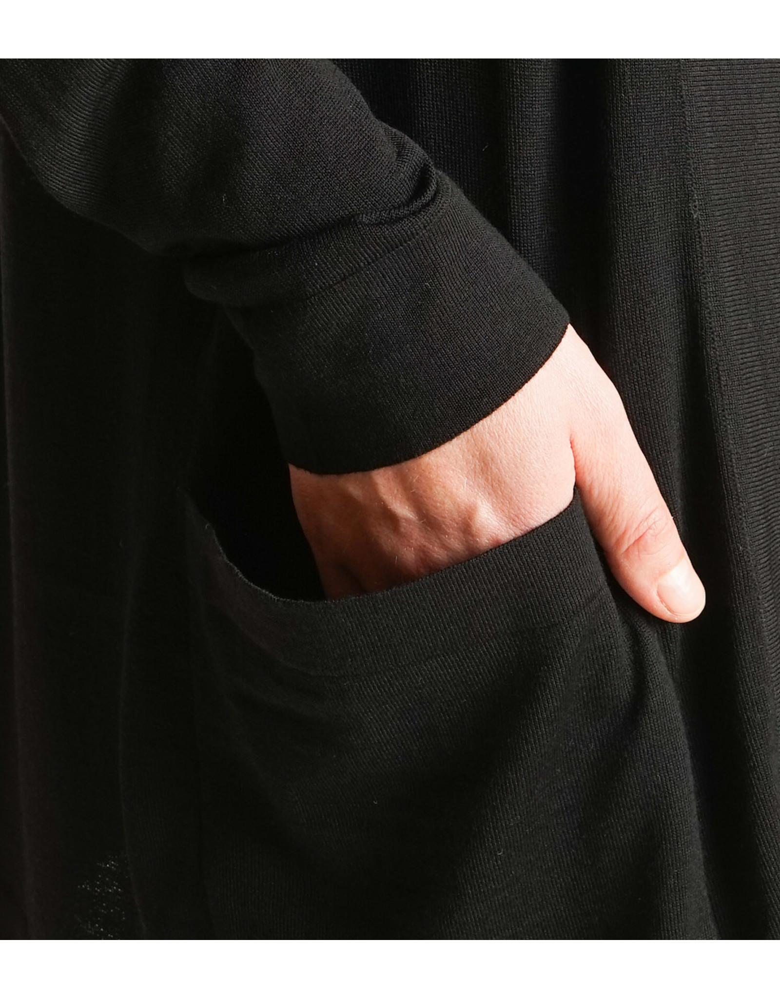 MASKA ANDO - buttonless cardigan