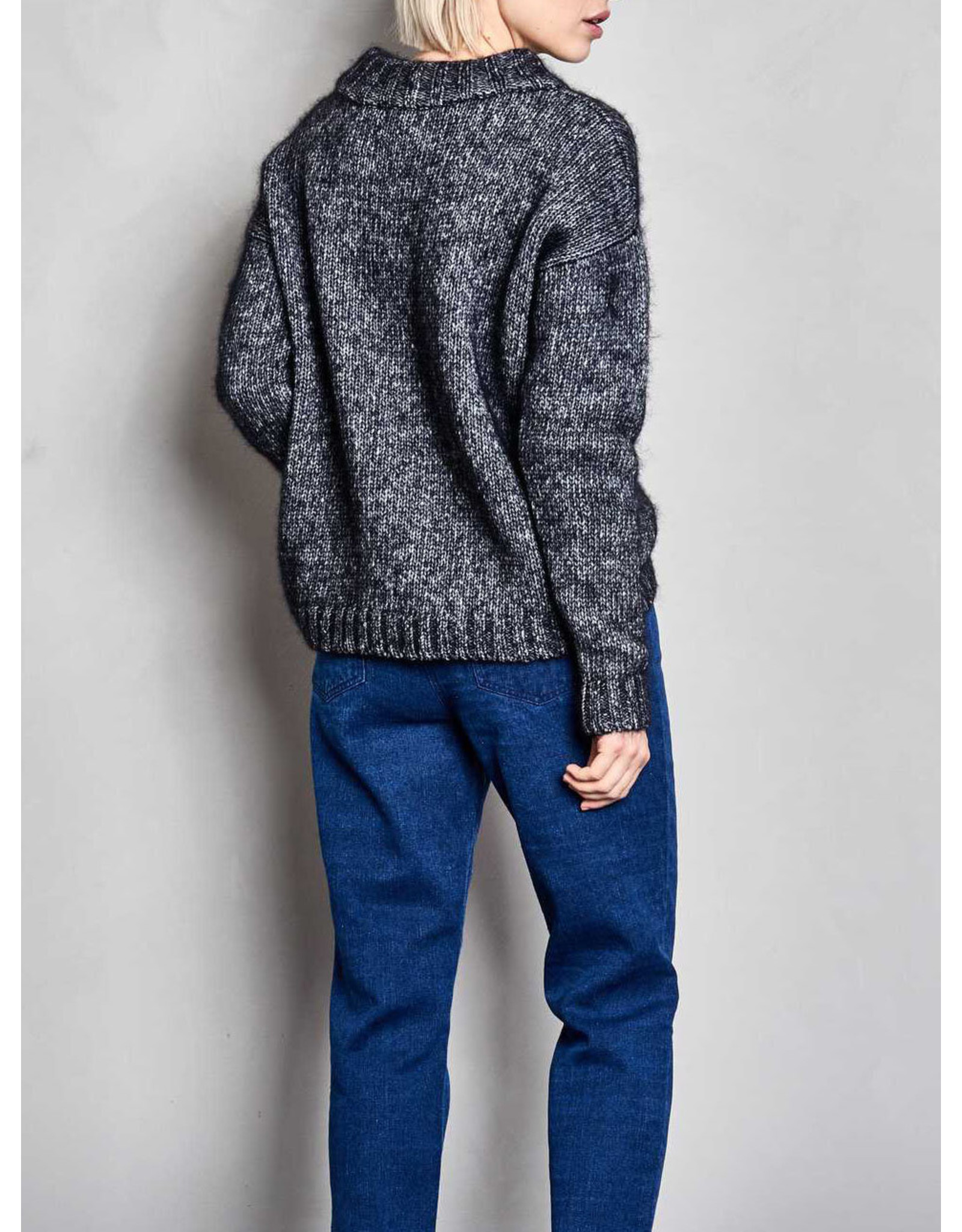 MASKA RAFI - DICKER SWEATER