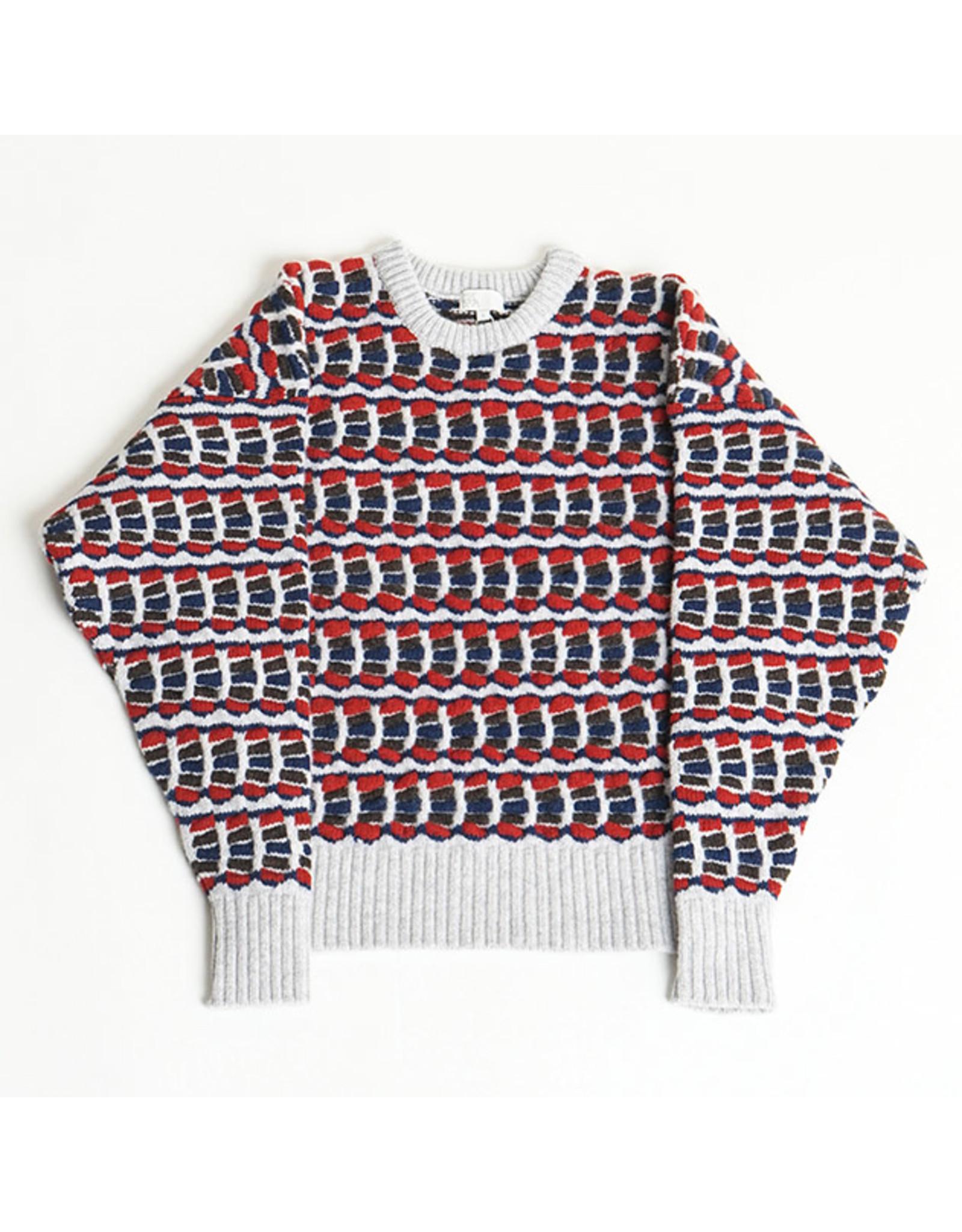 MASKA SVI - bunter Lammwoll-Sweater