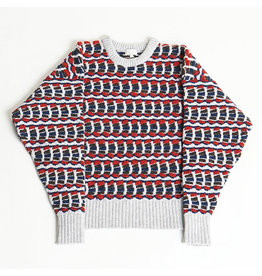 MASKA SVI - MULTI COLOURED LAMBSWOOL SWEATER