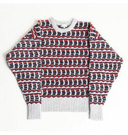 MASKA SVI - multi couloured Lambswool sweater