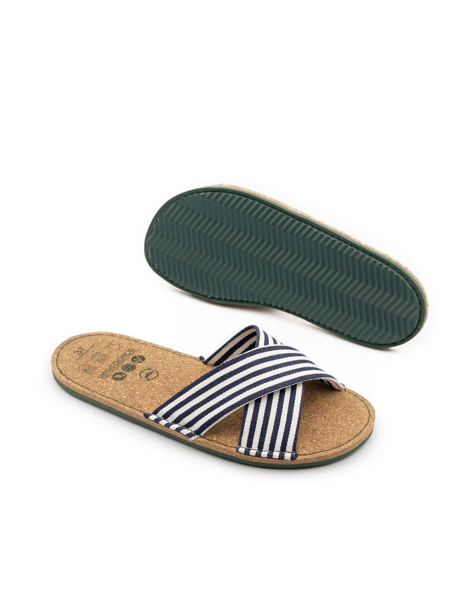 vesica piscis ALANIS striped crossed slides