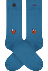 A-DAM Socken mit Stickerei