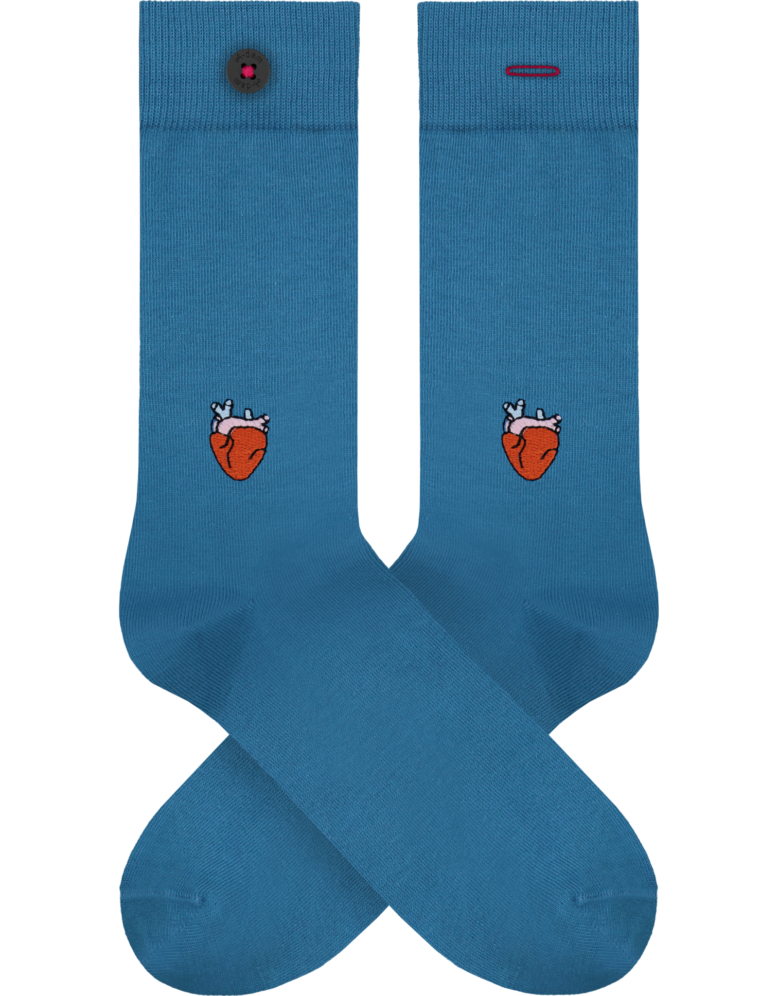 A-DAM Socks with embroidery